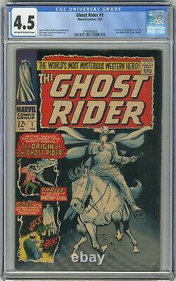 1967 Ghost Rider 1 CGC 4.5
