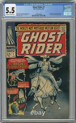 1967 Ghost Rider 1 CGC 5.5