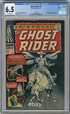1967 Ghost Rider 1 CGC 6.5