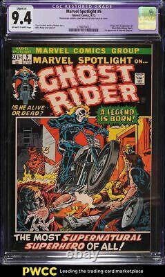 1972 Marvel Comics Marvel Spotlight #5 1st Appearance Ghost Rider CGC 9.4