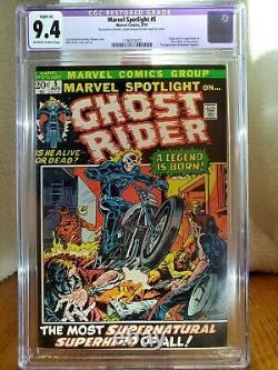 1972 Marvel Spotlight #5 CGC 9.4 First Apperance of Ghost Rider