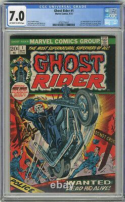 1973 Ghost Rider 1 CGC 7.0
