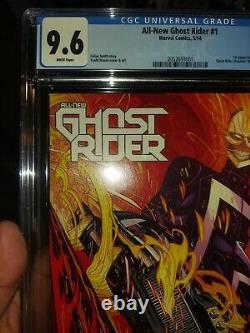 All-New Ghost Rider #1 CGC 9.6 First Appearance Robbie Reyes