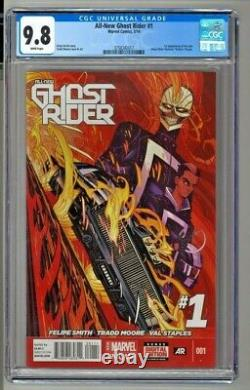 All-New Ghost Rider #1 CGC 9.8 First Appearance of Robbie Reyes