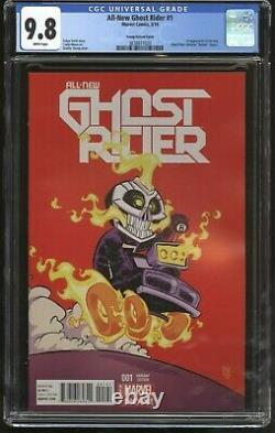 All-New Ghost Rider #1 Skottie Young Variant CGC Graded 9.8 HTF