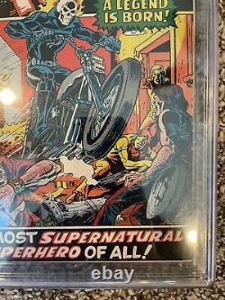 Bronze Age Lot Marvel Spotlight #5 Cgc 3.5 1st Ghost Rider Old Label Pgx Cbcs
