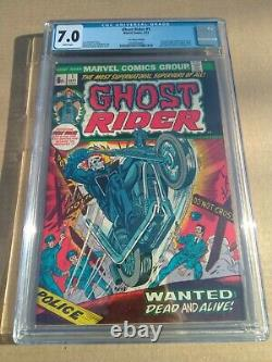 CGC Ghost Rider # 1 White pages