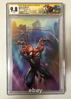 Clayton Crain Signed Autographed Spider-Geddon #0 Virgin Marvel Comics 9.8 CGC
