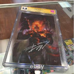 Cosmic Ghost Rider #1Variant CGC Graded 9.8 Signed by Donny Cates & Parrillo