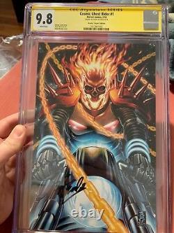 Cosmic Ghost Rider 1 1100 Virgin Variant Cgc 9.8 Ss Stan Lee