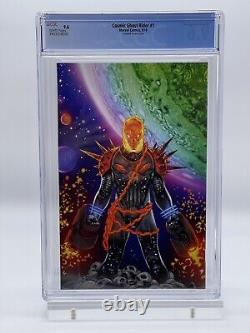Cosmic Ghost Rider #1 Campbell SDCC Glow-in-the-Dark Variant CGC 9.6