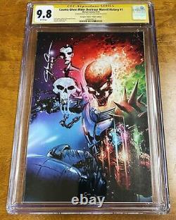 Cosmic Ghost Rider Destroys Marvel History #1 CGC 9.8 Virgin Crain DOUBLE REMARK