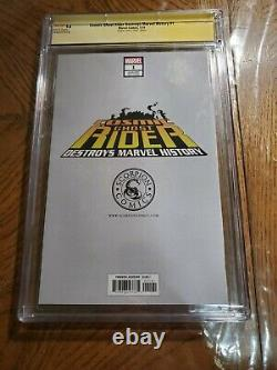 Cosmic Ghost Rider Destroys Marvel History #1 CGC 9.8 Virgin Variant Signed