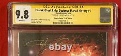 Cosmic Ghost Rider Destroys Marvel History Scorpion Virgin CGC 9.8 SS Crain