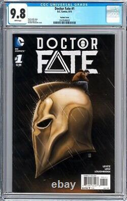 Doctor Fate #1 (2015) 125 Moustafa Variant CGC 9.8 1st Khalid Nassour