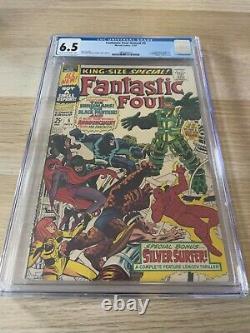 Fantastic Four Annual 5 CGC 6.5 OWithWHITE