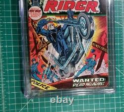 GHOST RIDER #1 (1973) CGC 5.5 1st Solo 1st App Son Of Satan Daimon Hellstrom