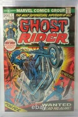 GHOST RIDER #1 1973 CGC 8.5 1st APPEARANCE HELLSTORM SON OF SATAN 7003 U. S