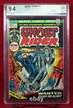 GHOST RIDER #1 (Marvel 1973) PGX 9.4 NM Near Mint 1st DAIMON HELLSTROM! +CGC