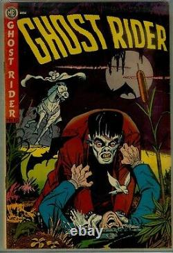 Ghost Rider #10- CGC 5.5-AYERS FRANKENSTEIN CVR/STRY- 1952 BEAUTY