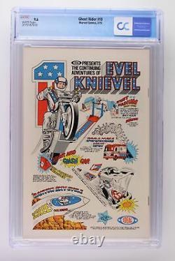 Ghost Rider #10 Marvel 1975 CGC 9.6 Hulk vs. Ghost Rider cover