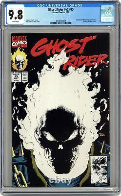 Ghost Rider #15 CGC 9.8 1991 3804942008