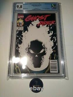 Ghost Rider #15 CGC 9.8 Scarce Newsstand Edition Glow In The Dark Cover