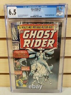 Ghost Rider #1 1967 MARVEL Comics 1st Appearance Carter Slade CGC 6.5