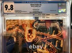 Ghost Rider 1 (2011) 125 LONZZI VARIANT! CGC 9.8! 1ST FEMALE GHOST RIDER