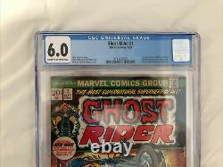 Ghost Rider#1 CGC 6.0 1st appearance of son of Satan. (1st Solo ghost rider)