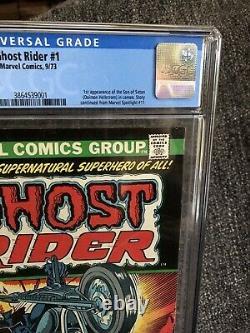 Ghost Rider #1 CGC 6.0, Mint Slab, 1st App Son of Satan Marvel Bronze Key Rare