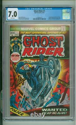 Ghost Rider #1 CGC 7.0 1st App Of The Son Of Satan 1973