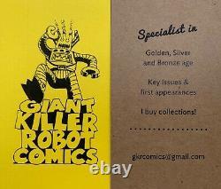 Ghost Rider #1 CGC 8.0 (1973) 1st app. Son of Satan/Hellstrom UNPRESSED