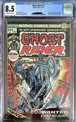 Ghost Rider 1 CGC 8.5 (105)