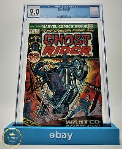 Ghost Rider #1, CGC 9.0 1973 Cream to Off-white Pages 1st Son of Satan App