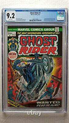 Ghost Rider #1 CGC 9.2 NM- WHITE Pages
