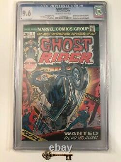 Ghost Rider #1 CGC 9.6 1st Son of Satan (Daimon Hellstrom) in Cameo! Marvel Key