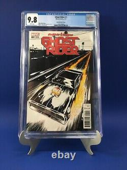 Ghost Rider 1 CGC 9.8 Robbie Reyes Ghost Rider Beyruth Variant Cover RARE