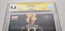 Ghost Rider 1 CGC SS Signed Gabriel Luna Felipe Smith Photo Agent Shield Variant