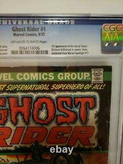 Ghost Rider #1 CGC graded 3.0 1ST appearance of Damian Hellstrom MARVEL