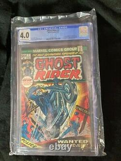 Ghost Rider #1 CGC graded 4.0 1ST appearance of Son of Satan Marvel comic Damian