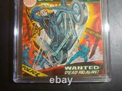 Ghost Rider #1 Cgc 6.5 Off-wht-wht Pages / Mint New Case / 1st App. Son Of Satan