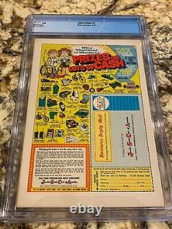 Ghost Rider #1 Cgc 9.0 Cva Exceptional Rare White Pages Looks Nicer! Hot Book