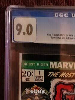 Ghost Rider 1 Cgc 9.0 White Pages