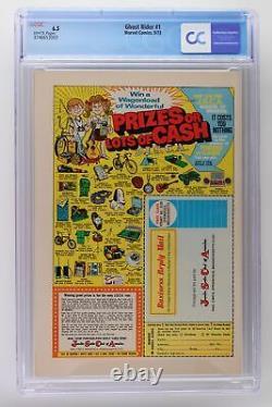 Ghost Rider #1 Marvel 1973 CGC 6.5 1st App Son of Satan (Daimon Helllstrom)