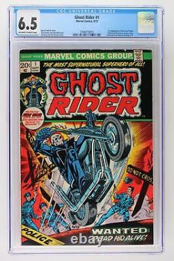 Ghost Rider #1 Marvel 1973 CGC 6.5 1st Appearance of the Son of Satan
