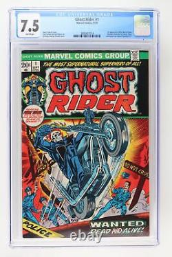 Ghost Rider #1 Marvel 1973 CGC 7.5 1st Appearance of the Son of Satan