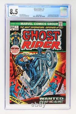 Ghost Rider #1 Marvel 1973 CGC 8.5 1st Appearance of the Son of Satan