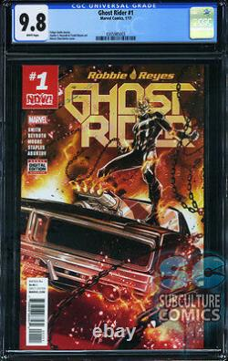Ghost Rider #1 Now First Print Cgc 9.8 Sold Out Marvel Comics Relaunch