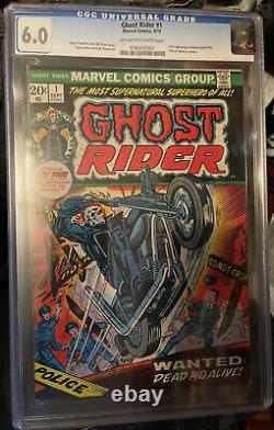 Ghost Rider 1 cgc 6.0
